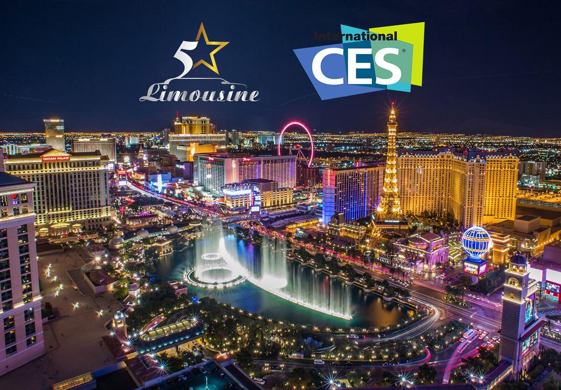 Las Vegas CES Limousine